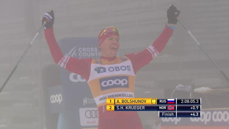 Esquí de fondo, Copa del Mundo: Bolshunov reafirma su superioridad en los 50 kilómetros