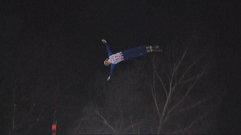 Белоруска Анна Гуськова победила на этапе Кубка мира по лыжной акробатике