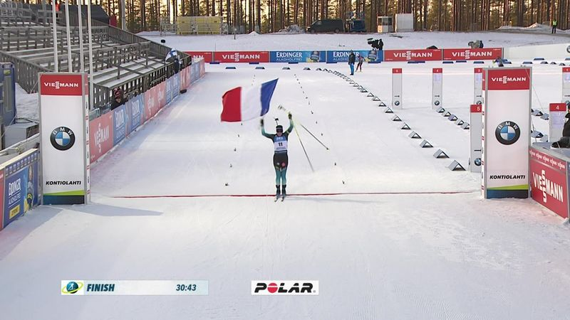 Highlights: Wierer takes title as Simon wins final race of the season