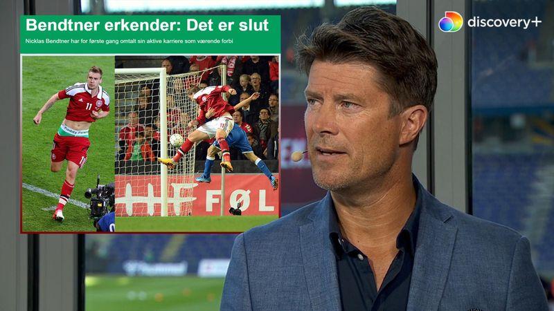 Bendtner stopper karrieren: Da han var bedst, snakkede vi aldrig om, hvem der skulle spille i front!