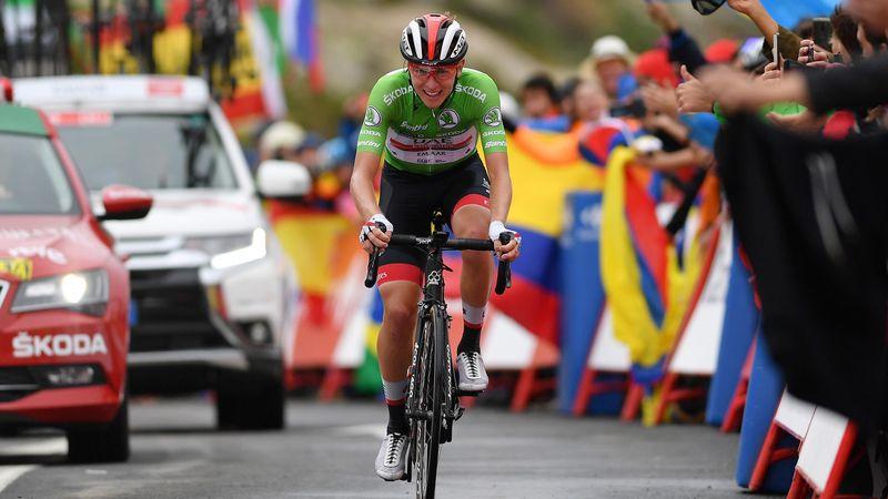 Watch the finish: Wonderkid Pogacar storms to third stage win of La Vuelta