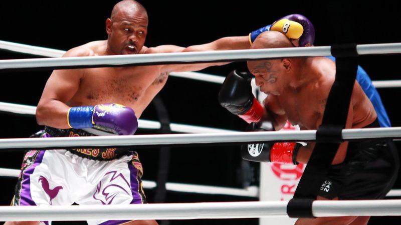 Tyson vs. Jones Jr.: So lief der Showkampf