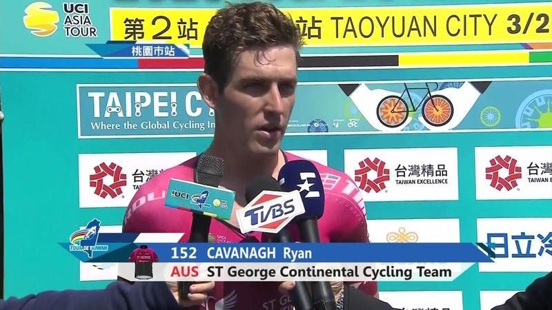Tour de Taiwan: Stage 2 - Ryan Cavanagh interview