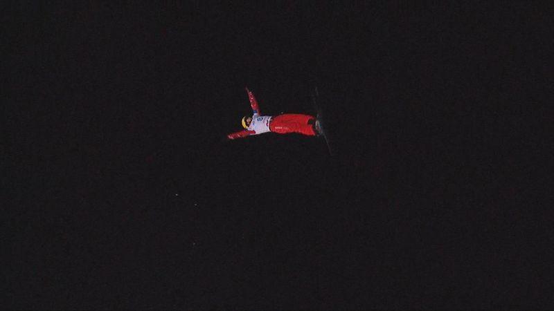 Кротов выиграл этап Кубка мира по лыжной акробатике в Москве