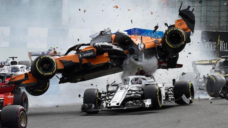 Horror-Crashs mit happy end: Die größten Wunder der F1-Geschichte
