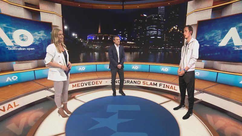 'Djokovic is een van de drie beste tennissers allertijden' - Medvedev