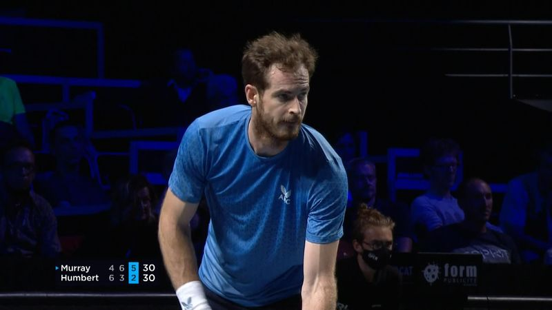 Andy Murray, victorie de colecție la Metz în fața lui Ugo Humbert