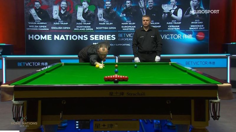 'Bizarre' - Jimmy and Andy react to Mark Williams' strange break