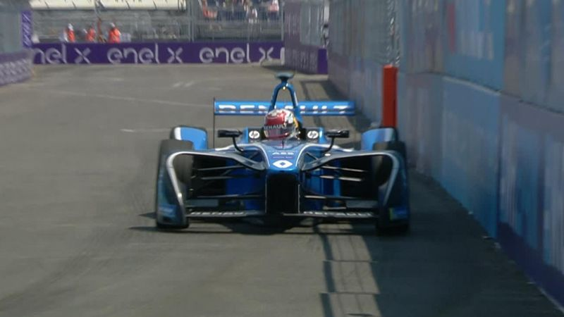 Buemi grabs pole-position in New York City