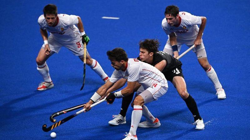 Hockey hierba (M)   Resumen España-Nueva Zelanda: Derrota dolorosa que complica el pase (3-4)
