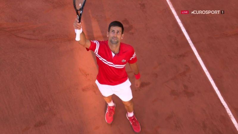 ¡Y lo logró! Tras cuatro horas de batalla, Djokovic cerró la final