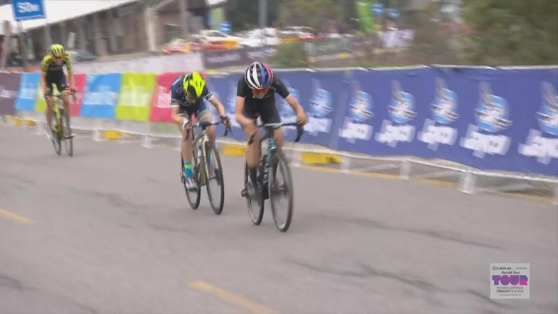 Herald Sun Tour:  women finish stage 2 (UK coms)