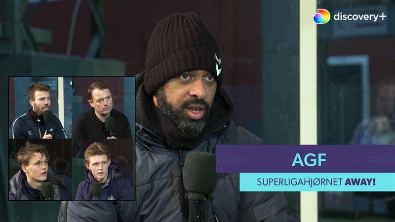 SuperligaHjørnet AWAY! Med Mortensen, 2x Nielsen, Jørgensen og Ammitzbøll