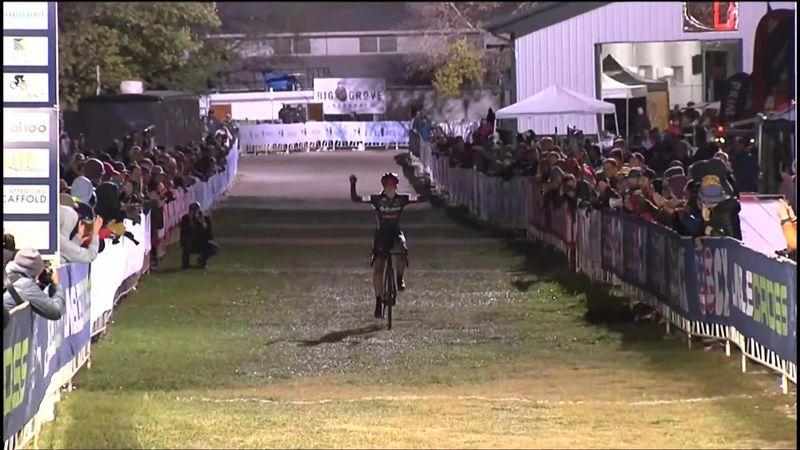 ¡Con sólo 19 años! Shirin Van Anrooij vence en Lowa City