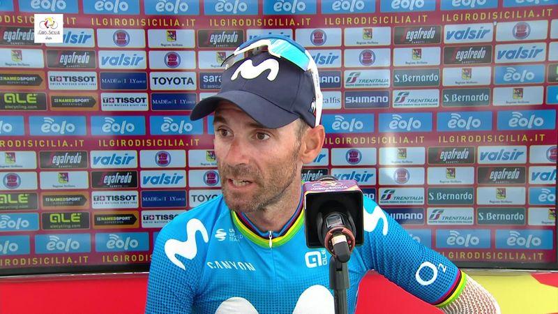 """Valverde: """"He notado la caída pero estoy mejor de lo que esperaba"""""""