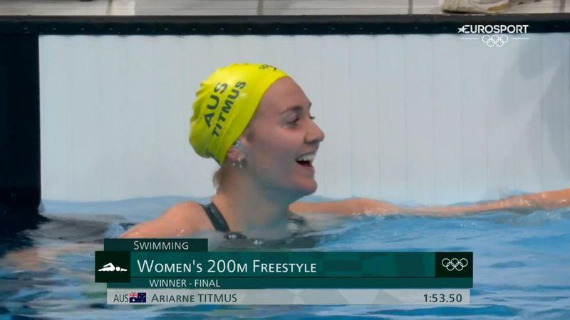 Natación | Titmus sigue siendo la reina de Tokio: ¡récord olímpico en 200 libres!