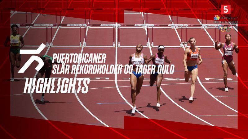 Highlight: Se eller gense Puerto Ricos hækkeguld