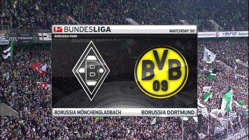 Høydepunkter: Borussia Mönchengladbach  - Borussia Dortmund