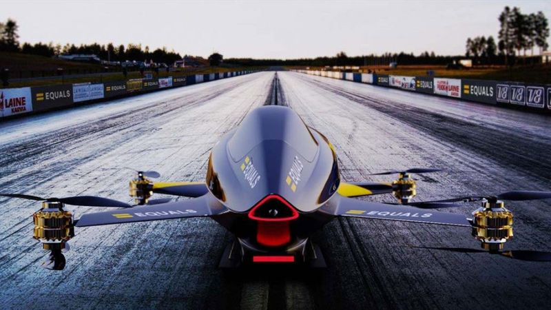 Carreras de coches voladores, la F-1 del futuro