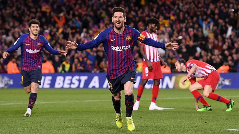 Messi amenaza al Atlético de Madrid, una de sus víctimas preferidas