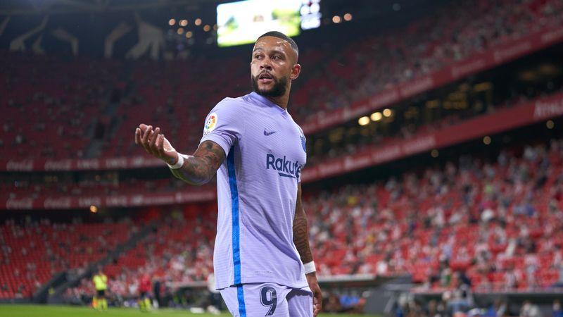 Resumen del Athletic-Barcelona: Memphis le salva de los Leones