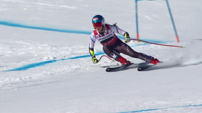 St. Moritz: Mikaela Shiffrin gana su segundo supergigante consecutivo