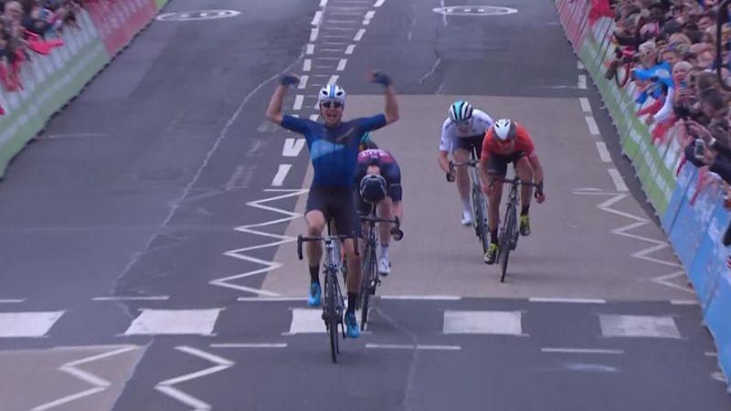 Tour de Yorkshire: a Tanfield la prima tappa, undicesimo Riccardo Minali
