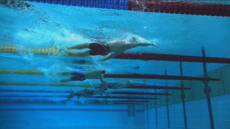 Чемпионский заплыв на 200 метров на спине, в котором Рылов деклассировал соперников