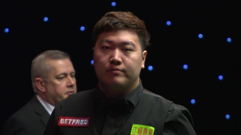 'Unbelievable' - Yan steals frame as Higgins misses double on final black