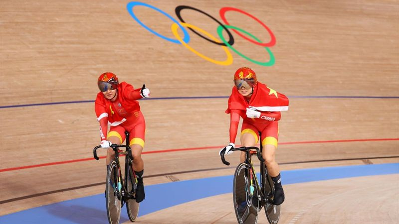 Women's team sprint finals, gold medal for China - Tokyo 2020 - Olympic Highlights