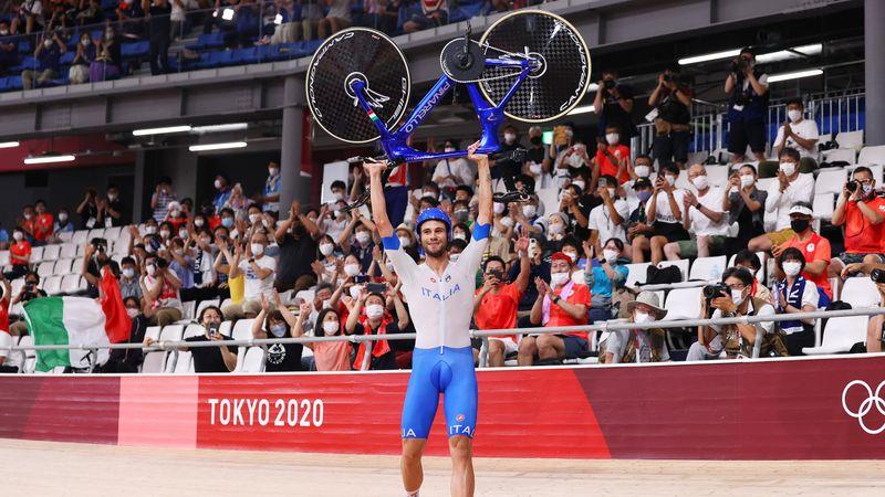 Jocurile Olimpice: Italia a câștigat medalia de aur la team pursuit, după o finală fabuloasă