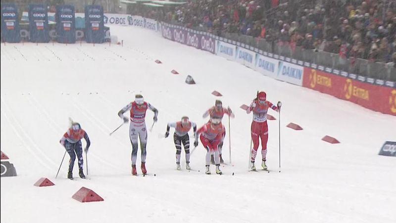 Langlauf-Weltcup: Das Finale im Sprint der Damen in Drammen