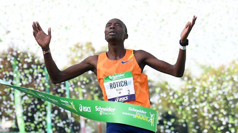 Superzeit bei Marathon in Paris: Rotich bricht Bekele-Rekord