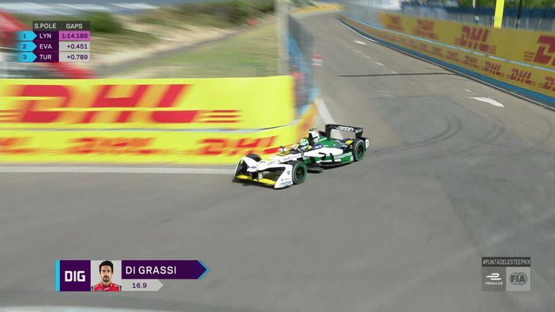 Fórmula E, Gran Premio de Uruguay: Di Grassi sobresale y saldrá desde la pole