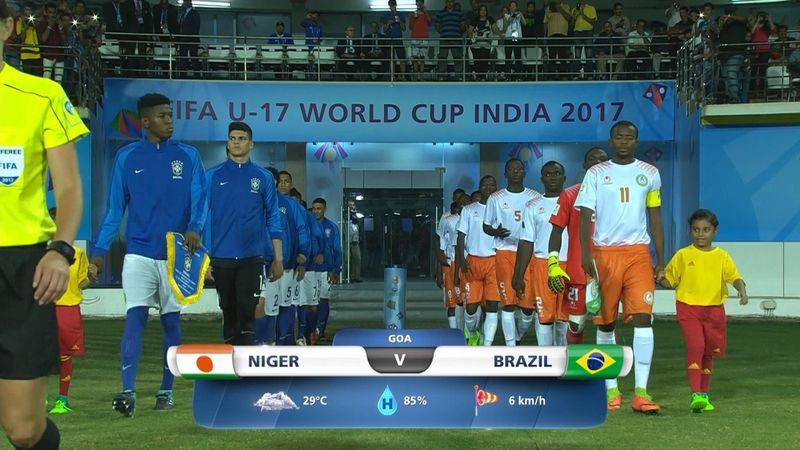 Бразильцы уверенно хлопнули сборную Нигера, у которой было лишь 2 полумомента