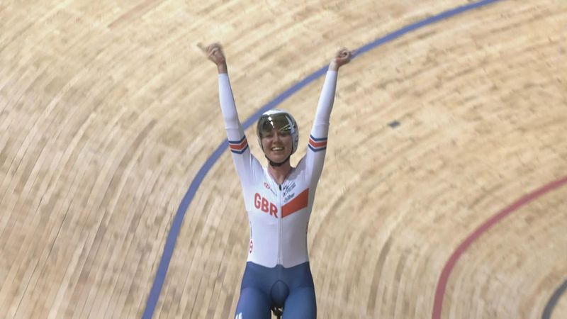Archibald dominates throughout to claim gold in the omnium