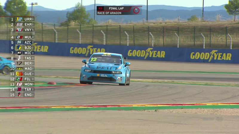 Aragon race three: Urrutia claims first victory in WTCR