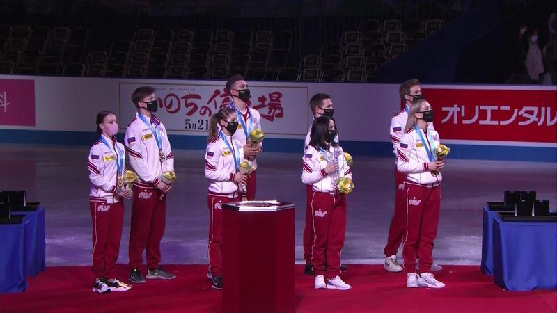 Russia campione al World Team Trophy: la premiazione