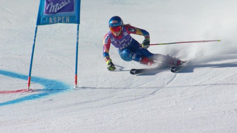 Shiffrin second after scrappy top section