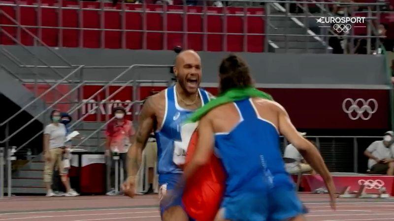 Jacobs, oro fenomenale nei 100 metri: il film del trionfo