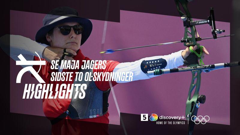 Highlight: Se Maja Jagers sidste to skydninger fra Tokyo