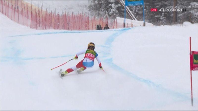 Lara Gut gana el supergigante en Lake Louise