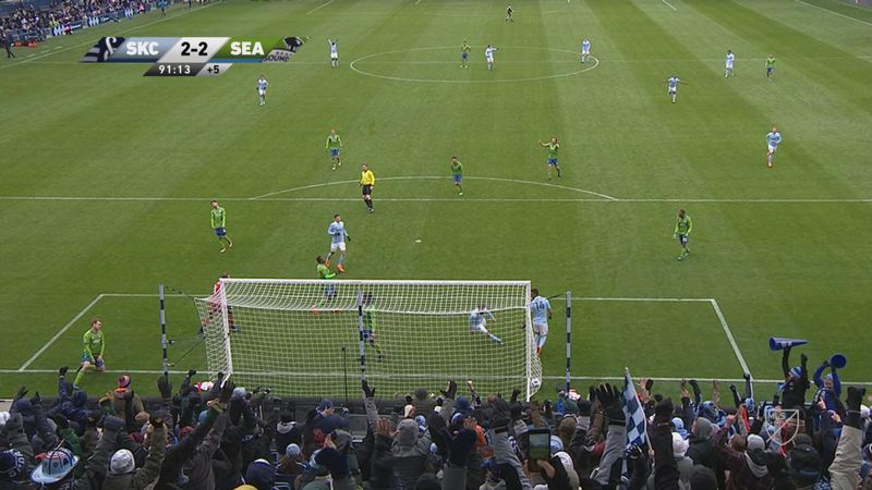 MLS: Sporting Kansas City - Seattle Sounders (Özet)