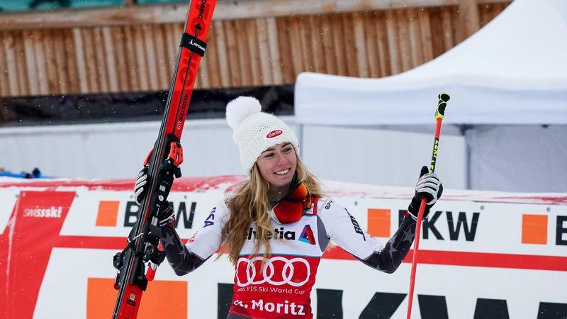 Shiffrin sigue de dulce y conquista también el eslalon paralelo en St. Moritz