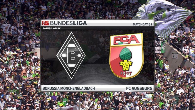 Høydepunkter: Gladbach - Augsburg