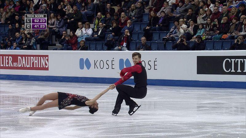 Marchei and Hotarek shine in European figure skating championships