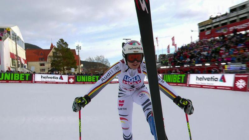 Mundiales Are 2019: Pequeña ventaja para Viktoria Rebensburg en la primera manga del eslalon gigante