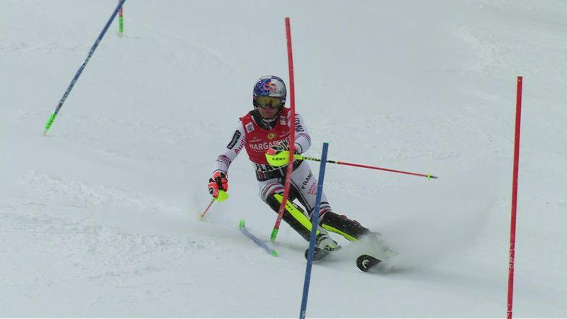 Libéré, Pinturault a retrouvé son meilleur niveau et le podium en slalom : sa 2e manche