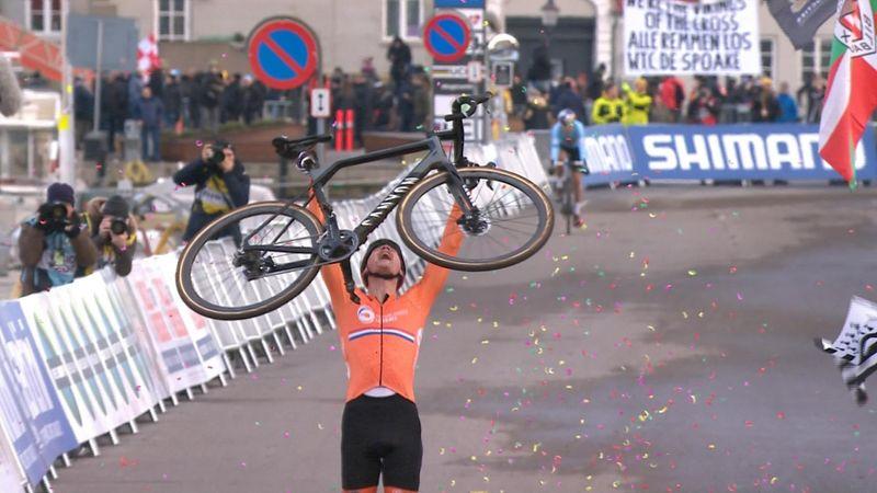 Tal día como hoy... Van der Poel conquistaba su 2º Mundial de ciclocross