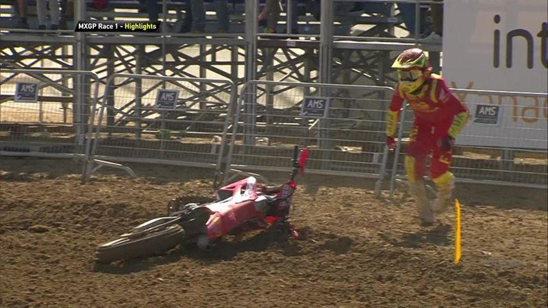 Febvre vince gara-1 del GP di Spagna, Cairoli 7°